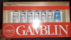Gamblin artist oil paints for Sale in Norwalk, CA