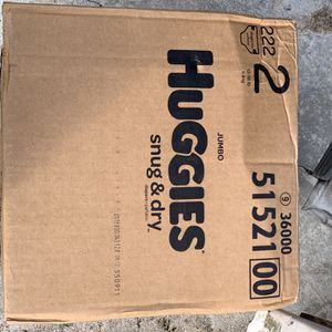 huggies diapers, size 2 for Sale in Hollywood, FL