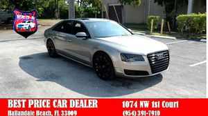 2011 Audi A8 for Sale in Hallandale Beach, FL