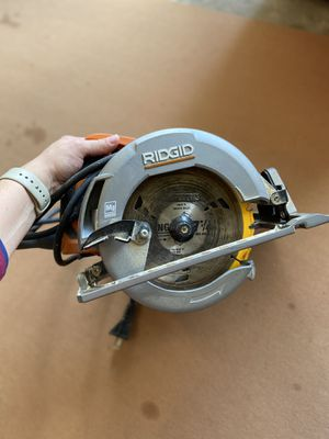 Rigid Circular Saw (barely used) for Sale in Roswell, GA