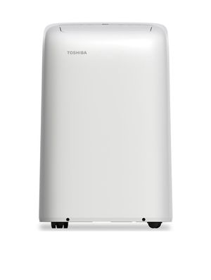 Toshiba 12,000 BTU (8,000 BTU, DOE) 115-Volt Portable AC with Dehumidifier Function and Remote Control in White for Sale in Phoenix, AZ