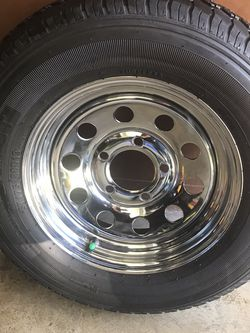 "2 Trailer Wheels 13"" Tires No good for Sale in Bell Gardens,  CA"