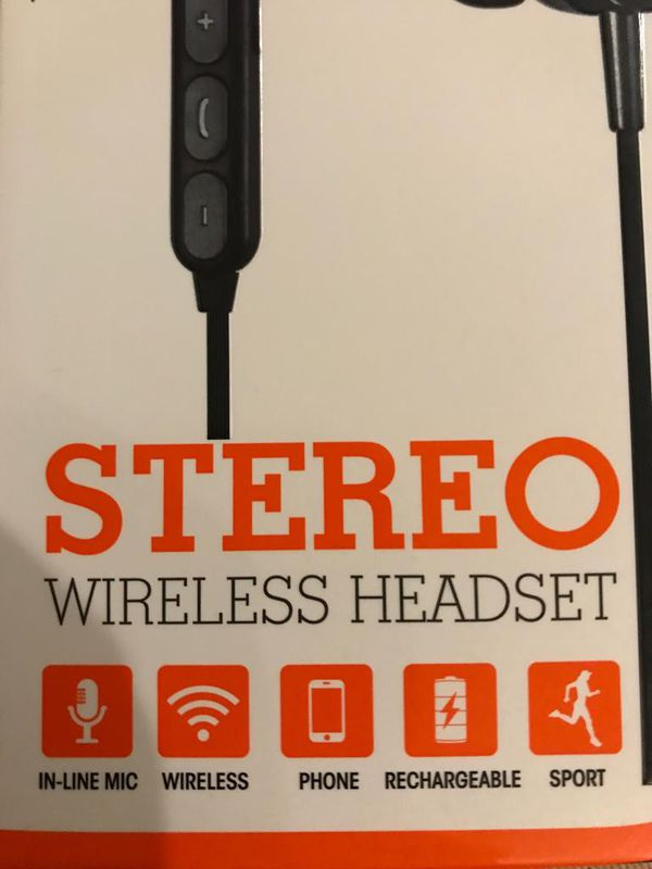 Wireless rechargeable headset new