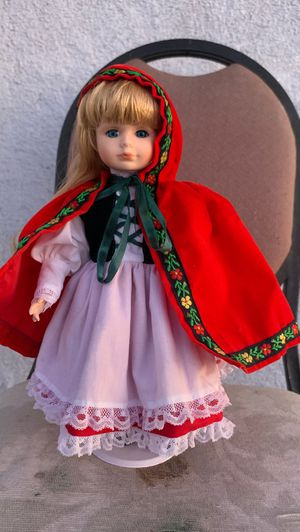 Little Red Riding Hood Porcelain Doll for Sale in Las Vegas, NV