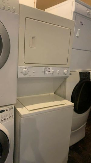 Washer and dryer stackable excellent condition for Sale in Linthicum Heights, MD