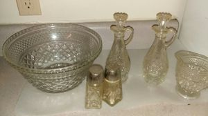 Old glass dishware (some antique) for Sale in Cleveland, OH