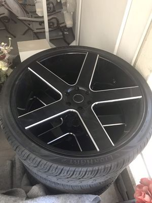 Rims 26's in good condition!!! With sensors for Sale in Santa Ana, CA