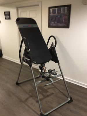 Iron man inversion table for Sale in Lockport, NY