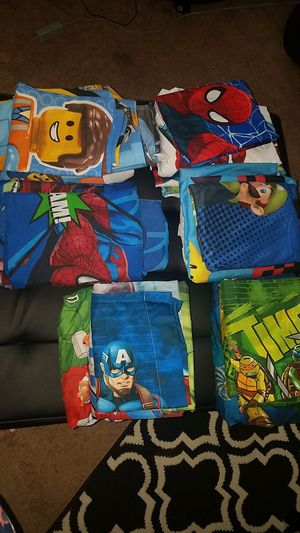 Kids bed sheets set 10$ each for Sale in High Point, NC