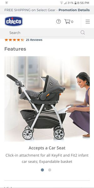 Carseat stroller for Sale in Frederick, MD