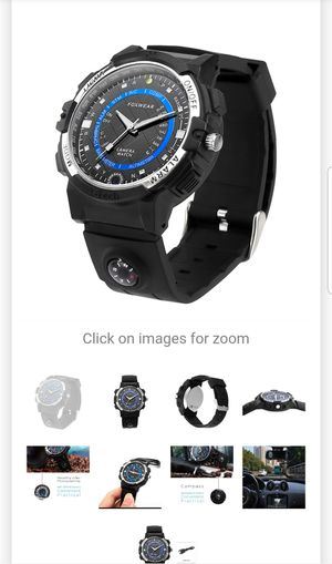 Foxwear Outdoor Watch 720p Camera HD Video 30FPS 32GB Memory WiFi for Sale in Los Angeles, CA
