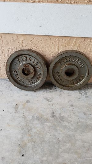 Olympic Weights | Set of 25 Pound Plates for Sale in Miami, FL