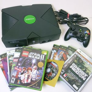 Xbox and 10 Games Original for Sale in Madison Heights, MI