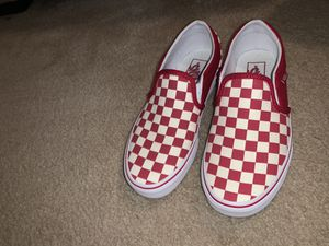 Red checkered vans for Sale in Harvest, AL