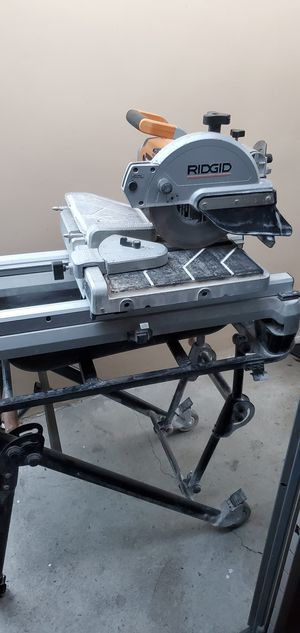 RIDGID WTS2000L TILE SAW for Sale in Los Angeles, CA