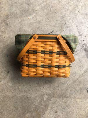 Longaberger Basket for Sale in Alexandria, VA