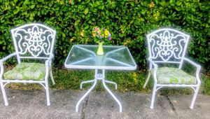 METAL PATIO FURNITURE SET $135 for Sale in Fort Worth, TX