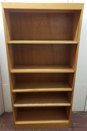 Nice Solid 5-Shelf Adjustable Bookcase (+Free Local Delivery) for Sale in Boston, MA