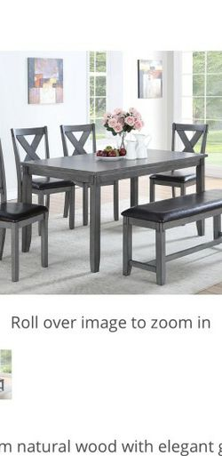 Dining Table With Chairs And Bench for Sale in West Covina,  CA