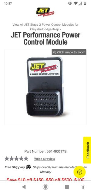 Jet performance chip for Sale in Ontario, CA