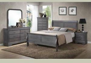 Brand new 4 piece queen bedroom set for Sale in Atlanta, GA