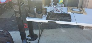 5 speaker and subwoofer surround sound for Sale in Manteca, CA