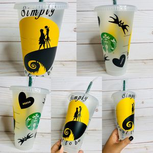 Nightmare Before Christmas Jack and Sally Venti Cold Cup for Sale in Litchfield Park, AZ