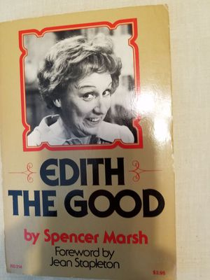 Edith the good paperback book by Spencer Marsh signed by Jean Stapleton number 384 for Sale in New Port Richey, FL