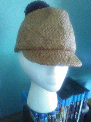 Burberry Straw Hat with Burberry hardware. Small for Sale in Silver Spring, MD