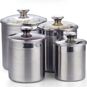 Cooks set of 4 stainless steel containers for Sale in Westminster, CA