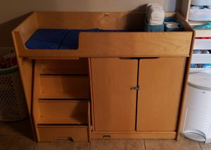 Changing table with stairs for Sale in Chandler, AZ