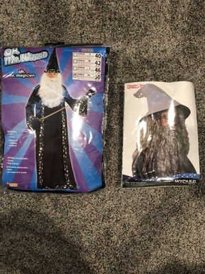 Adult XL Wizard Halloween Costume for Sale in Richmond Heights, MO