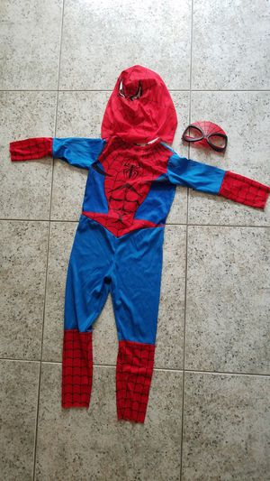 Spider man Halloween costume sz 4-6 for Sale in Boca Raton, FL