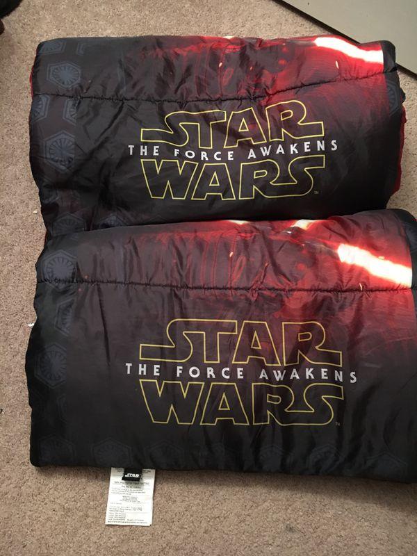 2 Star Wars Sleeping Bags