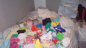 Cloth diaper lot Everything you need from birth to potty training - $200 (North Dallas) for Sale in Dallas, TX