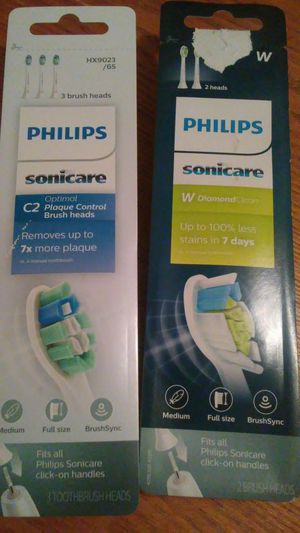 2 Replacement Heads for Sonicare toothbrush for Sale in Roseville, CA