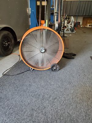 30 Inch Commercial Drum Fan for Sale in Coral Springs, FL