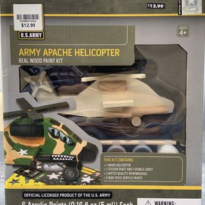 Army Apache helicopter toy for Sale in Norwalk, CA