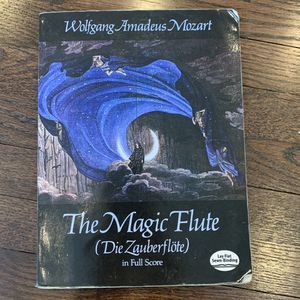 The Magic Flute (Die Zauberflote) in Full Score for Sale in Yonkers, NY