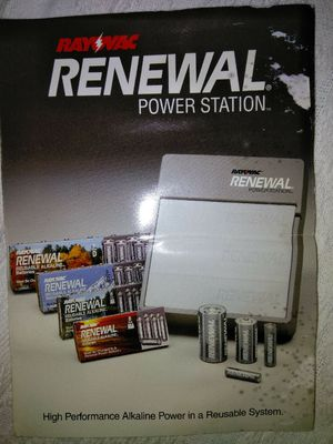 Rayovac Renewal power station,electric pump,new quiver,trinity digital antenna for Sale in Kingsport, TN