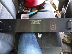 Carver amplifier for Sale in Austin, TX