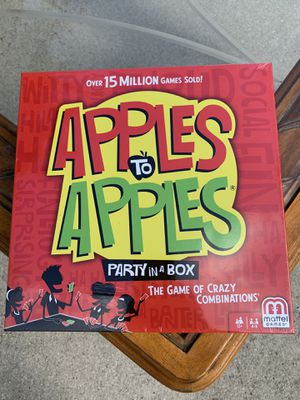 Apples to Apples party in a box Board game for Sale in Port St. Lucie, FL