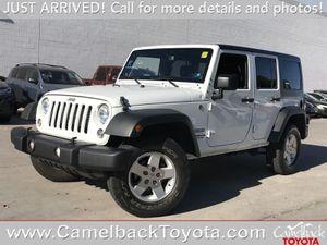 2014 Jeep Wrangler Unlimited for Sale in PHOENIX, AZ