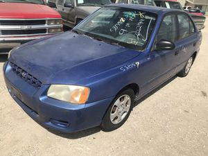 1999 - 2005 HYUNDAI ACCENT (PARTS ONLY) 2000; 2001; 2002; 2003; 2004 for Sale in Dallas, TX