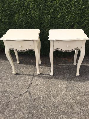 SOLID WOOD END TABLES/NIGHT STANDS for Sale in Vancouver, WA