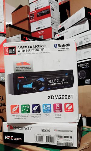 Dual cd player with bluetooth brand new for Sale in Phillips Ranch, CA