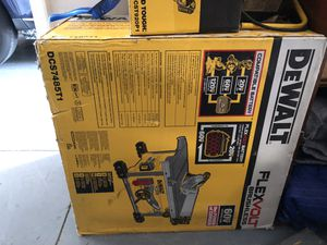 Dewalt DCS7485 Flexvolt table saw for Sale in Tampa, FL