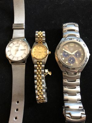 3 watches - Fossil - Bulova for Sale in Bothell, WA