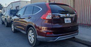 HONDA CRV EXL 2015 TITULO SALVAGE for Sale in Huntington Park, CA