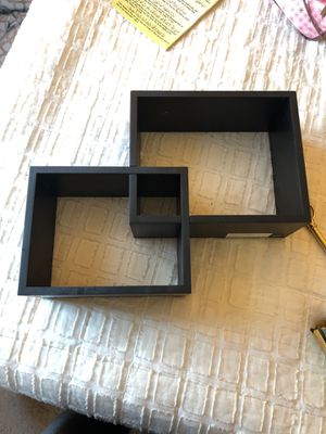 A set of two wall shelves for Sale in Dublin, OH